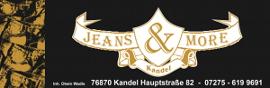 Werbebanner von Jeans and More
